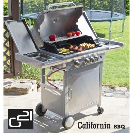 G21 California BBQ Premium line grill, 4 égőfej + ajándék nyomáscsökkentővel