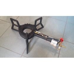 Providus+ 3 lábú gázzsámoly piezzo gyújtóval és lángőrrel 6,5 kW